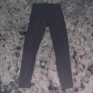 Lululemon black leggings size 4 (no tags)